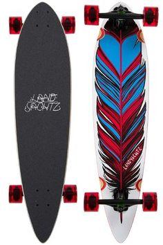 """Landyachtz Maple Chief Feather 36"""" (91,4cm) Complete-Longboard"""
