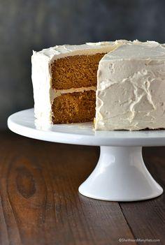 Southern Sweet Potato Cake Recipe   http://shewearsmanyhats.com/southern-sweet-potato-cake-recipe/