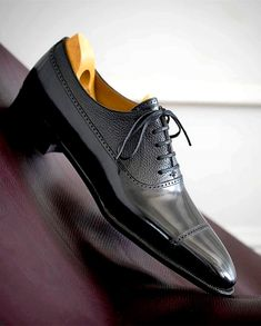 Mens Italian Oxblood Smart Formal Office Casual Lace Up Oxford Gibson Shoes Size
