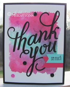 Hollybeary Creations : Sunday Stamps #75 & A little Watercolor Fun!