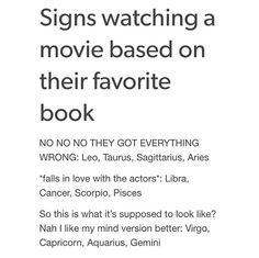 "Im scorpio but i always shout at my tv ""you got it wrong!!! All 3 of them flew around to find the key, not just Potter!!"""