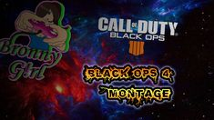 [Video] My latest kill montage of black ops Stay tuned cause MONTAGE MONDAY will be coming soon! Black Ops 4, Call Of Duty Black, Stay Tuned, I Am Awesome, Neon Signs