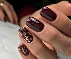 50 chic burgundy nail designs for winter 2019 # fashionlife # . - 50 chic burgundy nail designs for winter 2019 # fashionlife - Burgundy Nail Designs, Burgundy Nails, Winter Nail Designs, Winter Nail Art, Autumn Nails, Nail Art Designs, Burgundy Color, Winter Nails 2019, Purple Nail