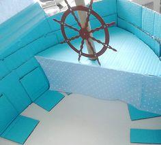 Diy Cardboard Boat Barco De Carton Para Molly Market Charminges