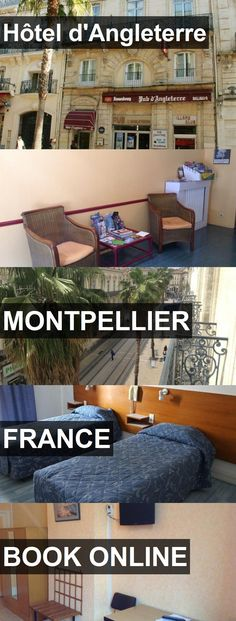 Hotel Hôtel d'Angleterre in Montpellier, France. For more information, photos, reviews and best prices please follow the link. #France #Montpellier #Hôteld'Angleterre #hotel #travel #vacation