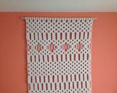 Items similar to Macrame Wall Hanging - Arrows - Handmade Macrame Home Decor/ Macrame Wall Art/Rope Weaving/Rope Braiding/Rope Art by Evgenia Garcia on Etsy