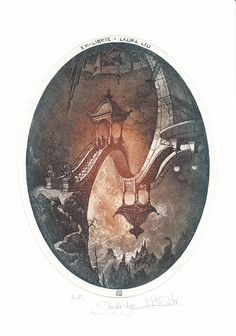 "Vesselin Atanassov Vassilev, ""Skybridge"", 2014, 13.5/ 18 cm, C3, C5"
