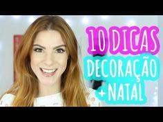 10 DICAS p/ Decorar a SALA + Dicas de Natal - SÚPER FÁCIL! #DiáriodeDecoração02 - YouTube