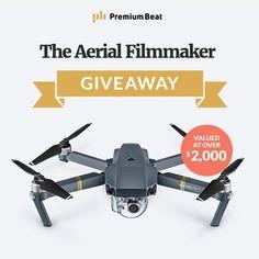 #DaddyComper Shared: Win DJI Mavic PRO Drone and Camera  -  #Giveaway (WW)