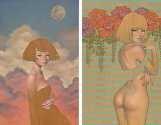 After Two-Year Absence, Audrey Kawasaki Is Back With Stunning New Art for Solo Show - My Modern Met