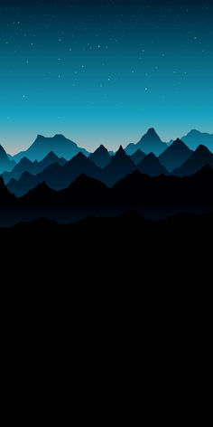 Blue mountain AMOLED #wallpaper #iphone #android #background #followme Minimalist Wallpaper Phone, Phone Screen Wallpaper, Cellphone Wallpaper, Iphone Wallpaper Gradient, Computer Wallpaper, Black Wallpaper, Tumblr Wallpaper, Nature Wallpaper, Cool Wallpaper