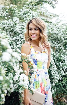 Floral spring dresses | Hello Fashion Blog