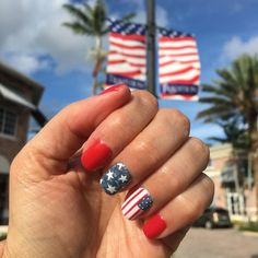 "116 Likes, 6 Comments - Sanctuary Spa at Tradition (@sanctuaryspatradition) on Instagram: ""Happy Birthday America #USA #merica #independenceday #distressedflag #flagnails #cndshellac…"""