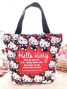 b021955c7a CJB Sanrio Hello Kitty Lovely Multipurpose Lunch Bag (KT head)