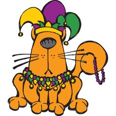 Happy Mardi Gras! How will you celebrate and indulge? The Little Fat Cat loves Fat Tuesday of course!