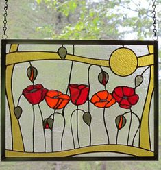 Cedar Stained Glass - Original Art Creations by Bridget Brunner Stained Glass Flowers, Stained Glass Crafts, Faux Stained Glass, Stained Glass Designs, Stained Glass Panels, Stained Glass Patterns, Leaded Glass, Mosaic Glass, Glass Painting Designs