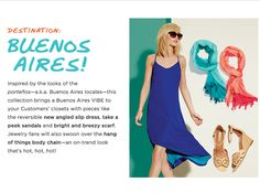 Get inspired this Summer with mark.'s Instant Vacation Buenos Aires #fashion collection! #summerfashion #summertrends