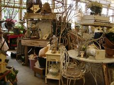 Home and Garden show at Monticello antiques April 6th at 8am.