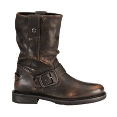 Harley Davidson Darice Leather Motorcycle Boots - Sheplers