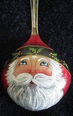 Beautiful Santa spoon by pbowes1111, via Flickr