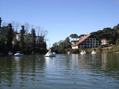 pedalinho no Lago Negro - Gramado - RS