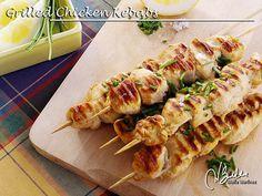 Grilled Chicken Kebabs (lowcarb, suitable for Dukan diet), via Flickr.