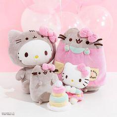 Pusheen Plush, Cute Easter Bunny, Kawaii Plush, Bag Clips, Craft Accessories, Craft Kits, Sanrio, Hello Kitty, Super Cute