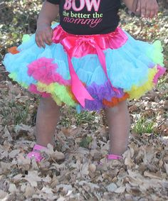 7f799fb69 Look what I found on Under The Hooded Towels Pink Rainbow Pettiskirt -  Infant, Toddler & Girls by Under The Hooded Towels