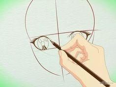 Imagem intitulada Draw Manga Faces in Basic Sketching Step 16