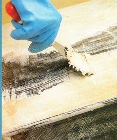 1000+ images about Restaurar muebles on Pinterest  Pintura, Distressed wood ...