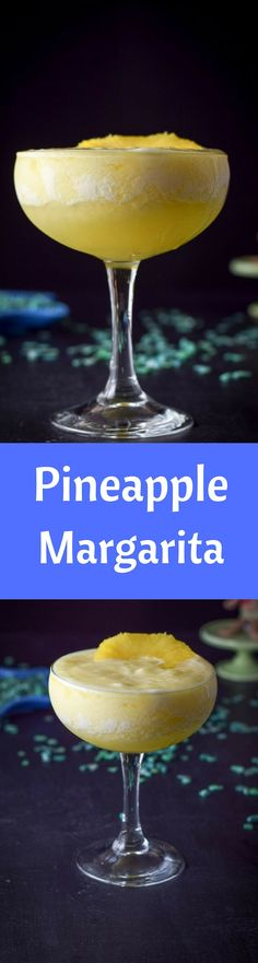 This pineapple margarita recipe is so delicious and mouth watering that you will have a hard time just having one! So you may want to make a pitcher! https://ddel.co/pinmarg
