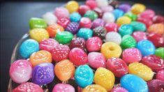【レジン】いろんな味のドロップを瓶に詰めて飾りたい DIY Colorful Candy Drops【UV Resin】