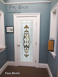 Glass Entry Doors Etched Glass Tuscan Style Faux Bevels I Negative Sans Soucie