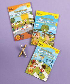 Sylvan™ Educational 3-Book Sets