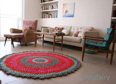 love the rug and love the living room...