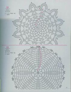 crochet motifs - Inspirações de Croche com Any Lucy