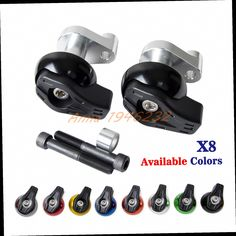 41.22$  Watch here - http://ali6zx.worldwells.pw/go.php?t=32774620030 - Motorcycle CNC Aluminium Frame Sliders Crash Pads Protector For Yamaha  YZF R1  2004 2005 2006 41.22$