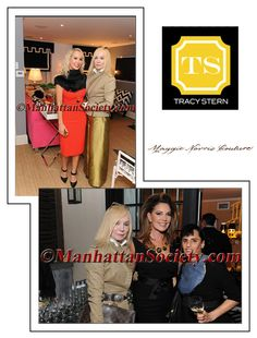Maggie Norris, Tracy Stern, Elizabeth Scokin and Jade Dressler attending Tracy Stern's VIP Cocktail Reception, Celebrating her New York Cottages and Gardens Magazine Feature.  It was so Lovely to see Gregory and Christopher! They are so Creative and Fabulous!   Editor In Chief: Kendell Cronstrom  Photographed By: Gregory Partanio http://www.manhattansociety.com/