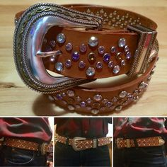 Your place to buy and sell all things handmade Bling Belts, Kelly S, Twelve Days Of Christmas, Leather Design, Cuff Bracelets, Handmade Items, Buy And Sell, Group, Amazing