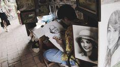 deGranero clases de dibujo, pintura y fotografía en Madrid. Cursos. Academia/taller de arte. 4 pasos sobre el encajado y la mancha que debes conbocer.