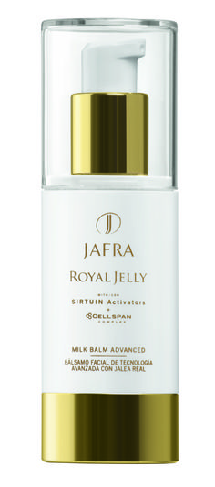 JAFRA's iconic Royal Jelly... Created to mirror the beauty and longevity known to the ancient Egyptian women, who first learned of the queen bee's elixir. Called Royal Jelly, this substance allows the bee to live 60 times longer than her subjects.