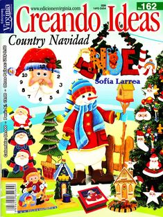 Blog de Santa clauss Christmas Books, Christmas Holidays, Christmas Crafts, Merry Christmas, Patch Aplique, Painted Books, Book Crafts, Craft Books, Felt Toys