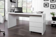 Schreibtisch + Rollcontainer statt Theke Leichte Modifikation durch Tischler (Thekenanbau)