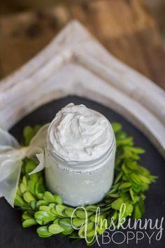 Homemade Body Butter Recipe using essential oils