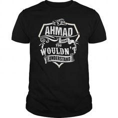 awesome Name on Ahmad Lifetime Member Tshirt Hoodie - It's shirts Ahmad thing