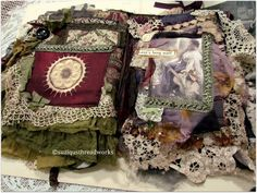 """Suziqu's Threadworks: """"Gypsies Past"""" - a new Fabric and Lacebook"""