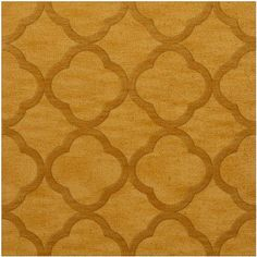 Dalyn Rug Co. Dover Butterscotch Area Rug Rug Size: Square 12'