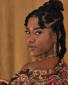 The Beauty of Braided Hairstyles – Model Hairstyles Protective Hairstyles For Natural Hair, Natural Hair Braids, Natural Hair Care, Natural Hair Styles, 4c Natural Hairstyles Short, Sweet Hairstyles, Prom Hairstyles, Braided Hairstyles, Shakira Hairstyles