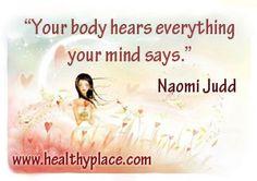 Healthy mind makes a healthy body. #mentalhealth