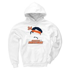 """About: Our Men's Hoodie is made up of a 50/50 Poly-Cotton Blend, making the hoodie both soft and durable and perfect for tailgating on gameday, with flexibility to play catch or a game of bags! It also has a 1"""" x 1"""" rib with spandex at cuffs and waist, a two-ply hood, and front pouch pocket with bartacks for durability. Perfect for the Fall and Winter months where tailgating and gamedays take precedence! Fit: True to Size Care: Machine wash cold, tumble dry low"""